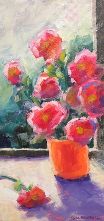 """breather"" original fine art by Nora MacPhail"