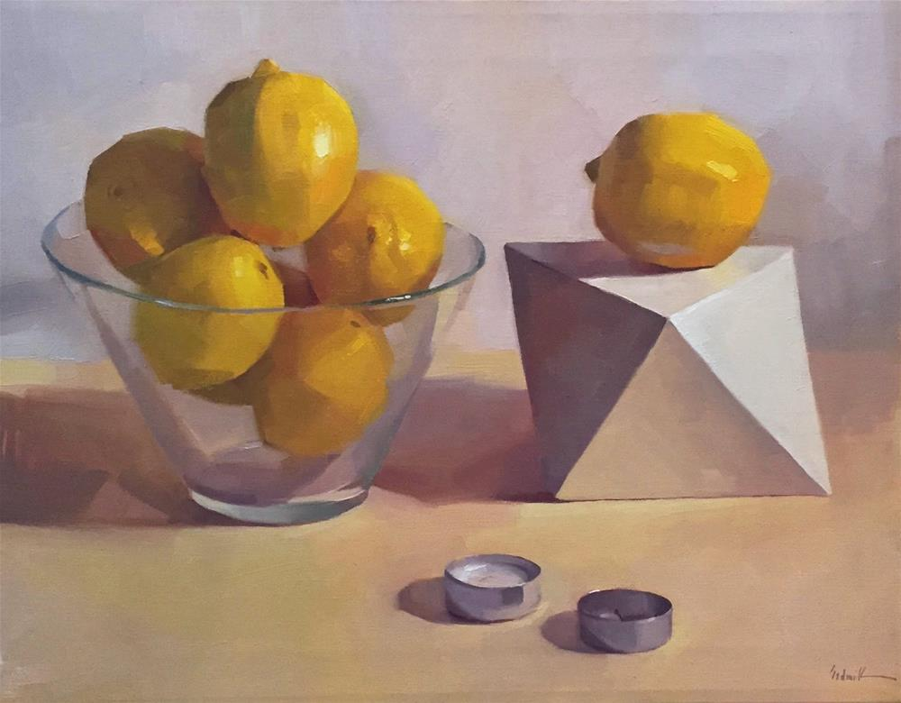 """Burnt Out (Lemons)"" original fine art by Sarah Sedwick"
