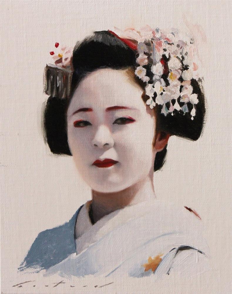 """Katsuhina Study"" original fine art by Phil Couture"