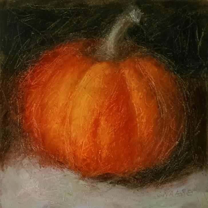 """Pumpkin Redeux"" original fine art by Cindy Haase"
