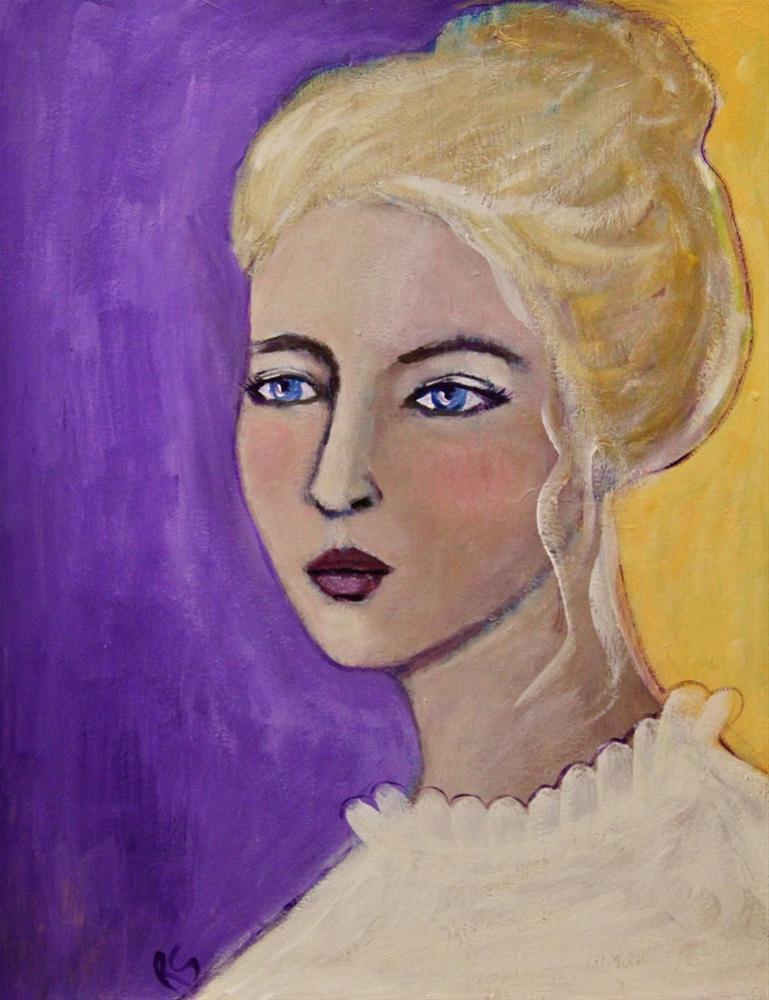 """""""Sonya"""" original fine art by Roberta Schmidt"""