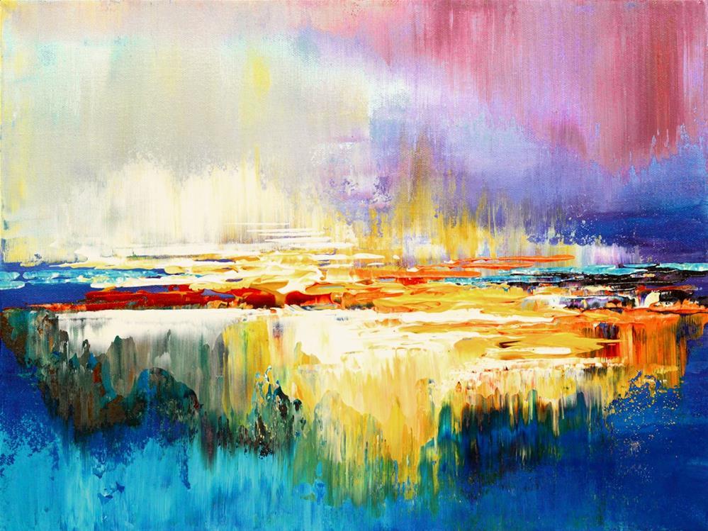 """Mirage"" original fine art by Tatiana Iliina"