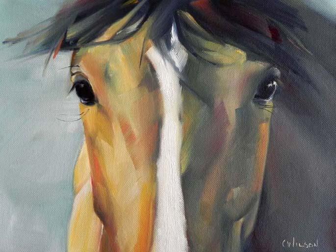 """Tyler"" original fine art by Cheryl Wilson"