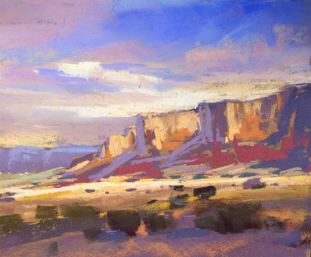 """""""Top Places and Paintings of 2014....Abiquiu"""" original fine art by Karen Margulis"""
