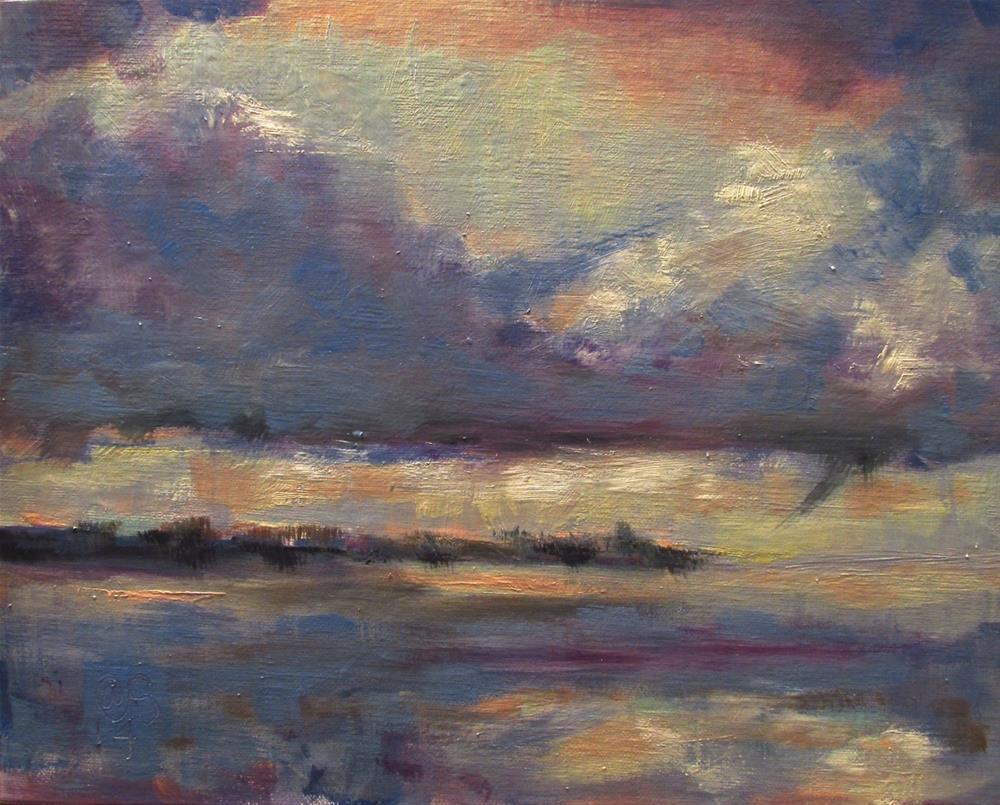 """Venus and Her Morning"" original fine art by Aurelio Saiz"