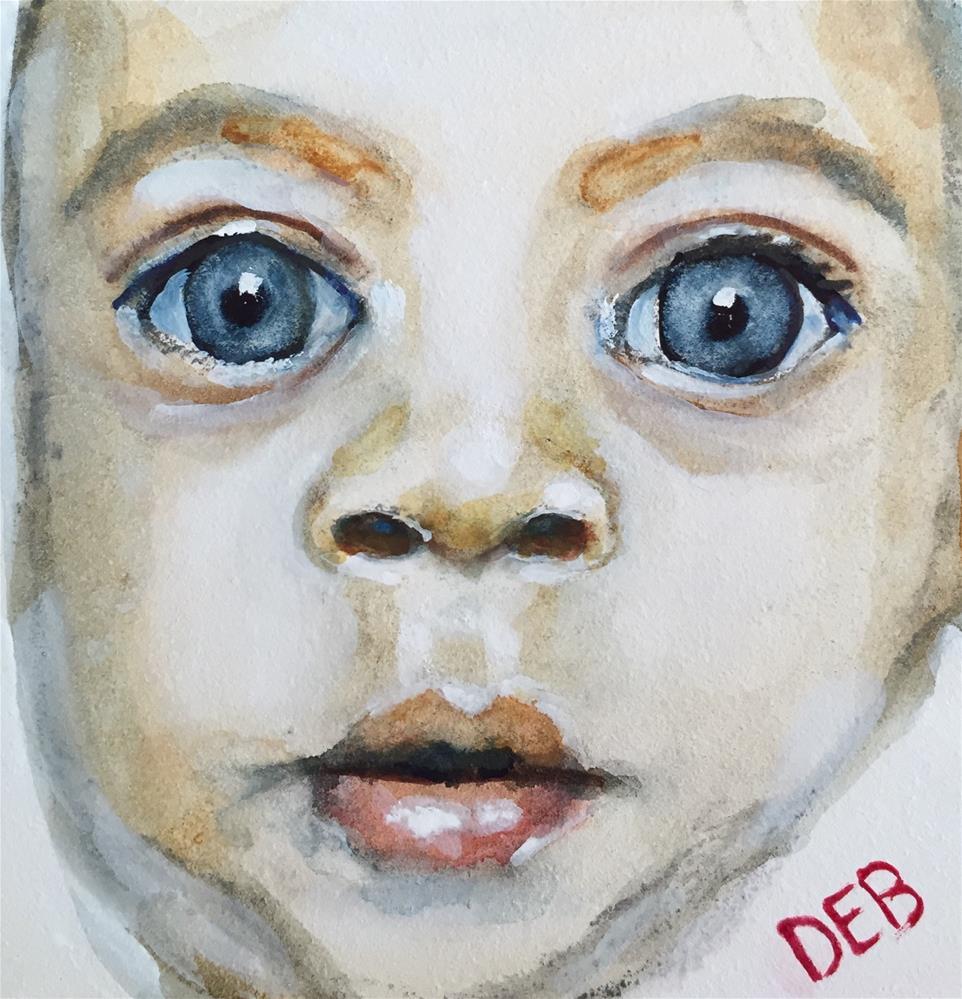 """Tiny Tim #4"" original fine art by Debbie Yacenda"