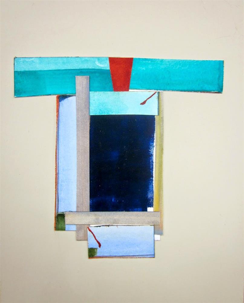 """Kimono 1"" original fine art by Carol Wiley"
