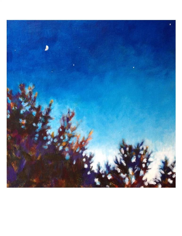 """Day Into Night"" original fine art by Suzanne Woodward"