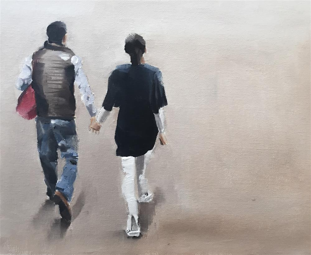 """A Walk Together"" original fine art by James Coates"