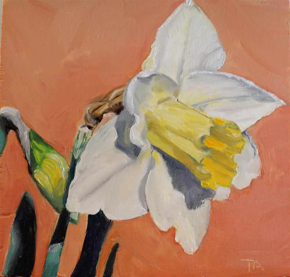 """""""Dilly"""" original fine art by Tamsen Armstrong"""