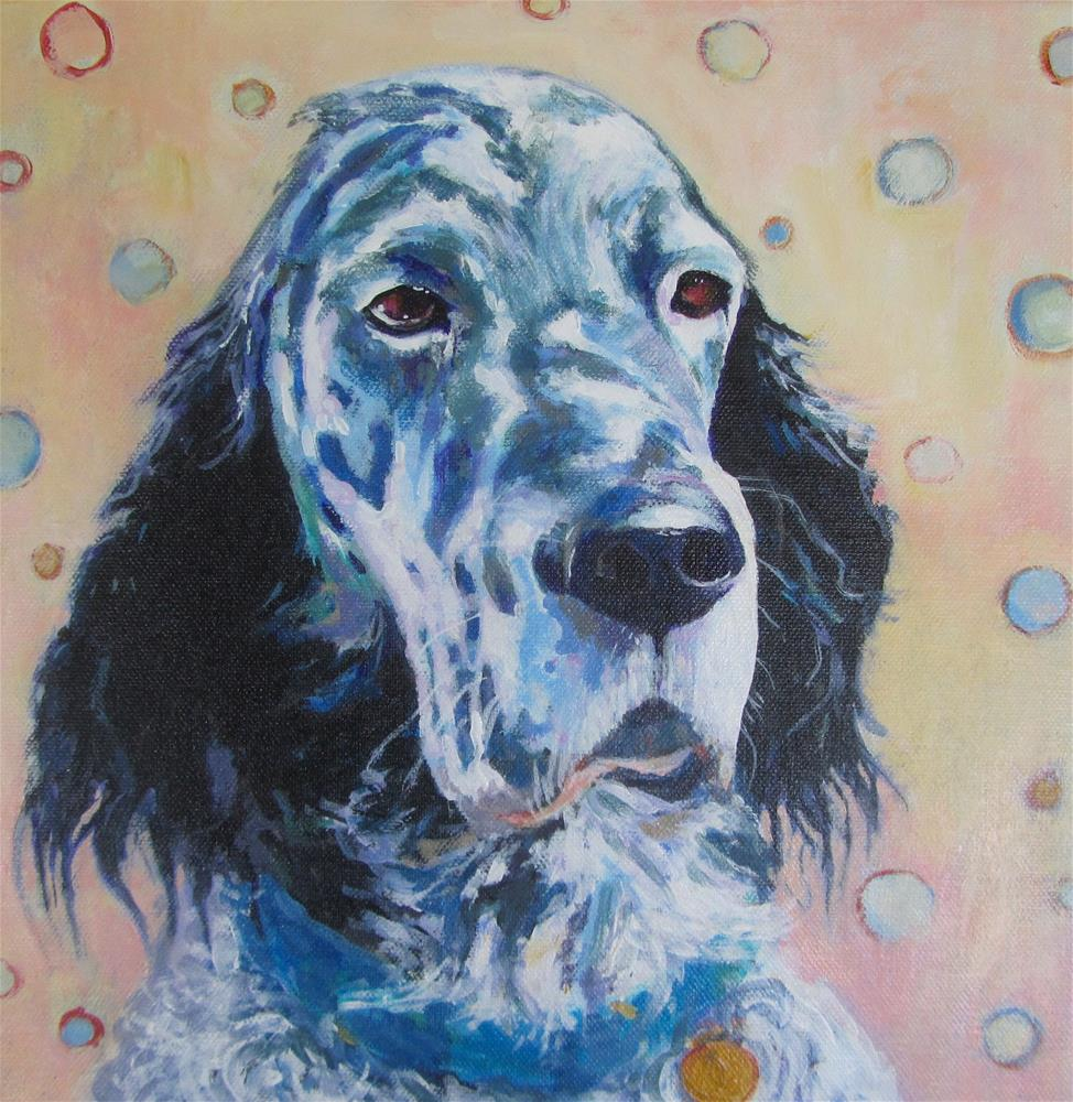 """Jasper"" original fine art by Patricia MacDonald"