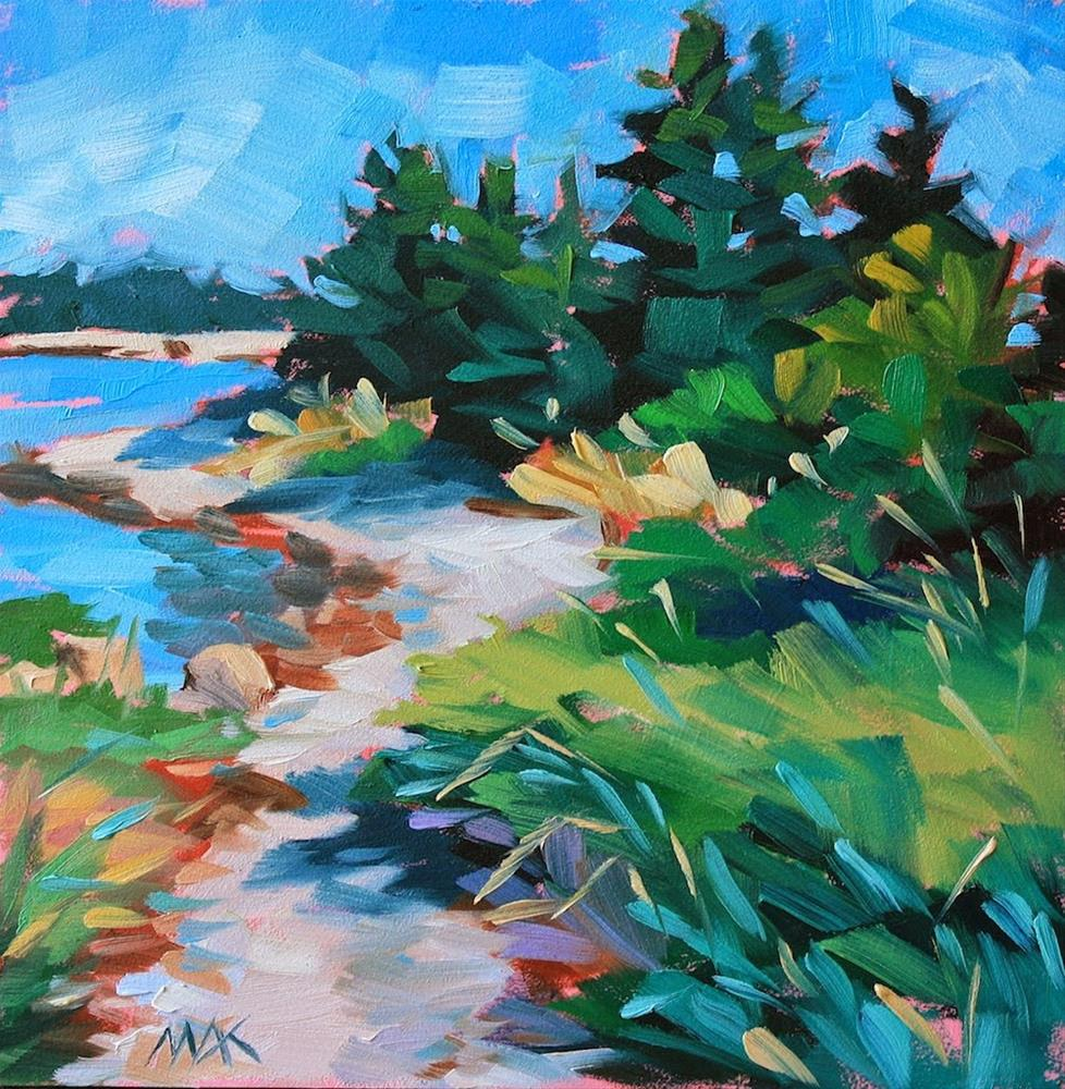 """""""Water's Edge"""" original fine art by Mary Anne Cary"""