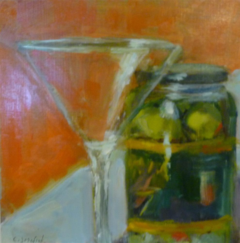 """Getting Ready"" original fine art by Carol Josefiak"