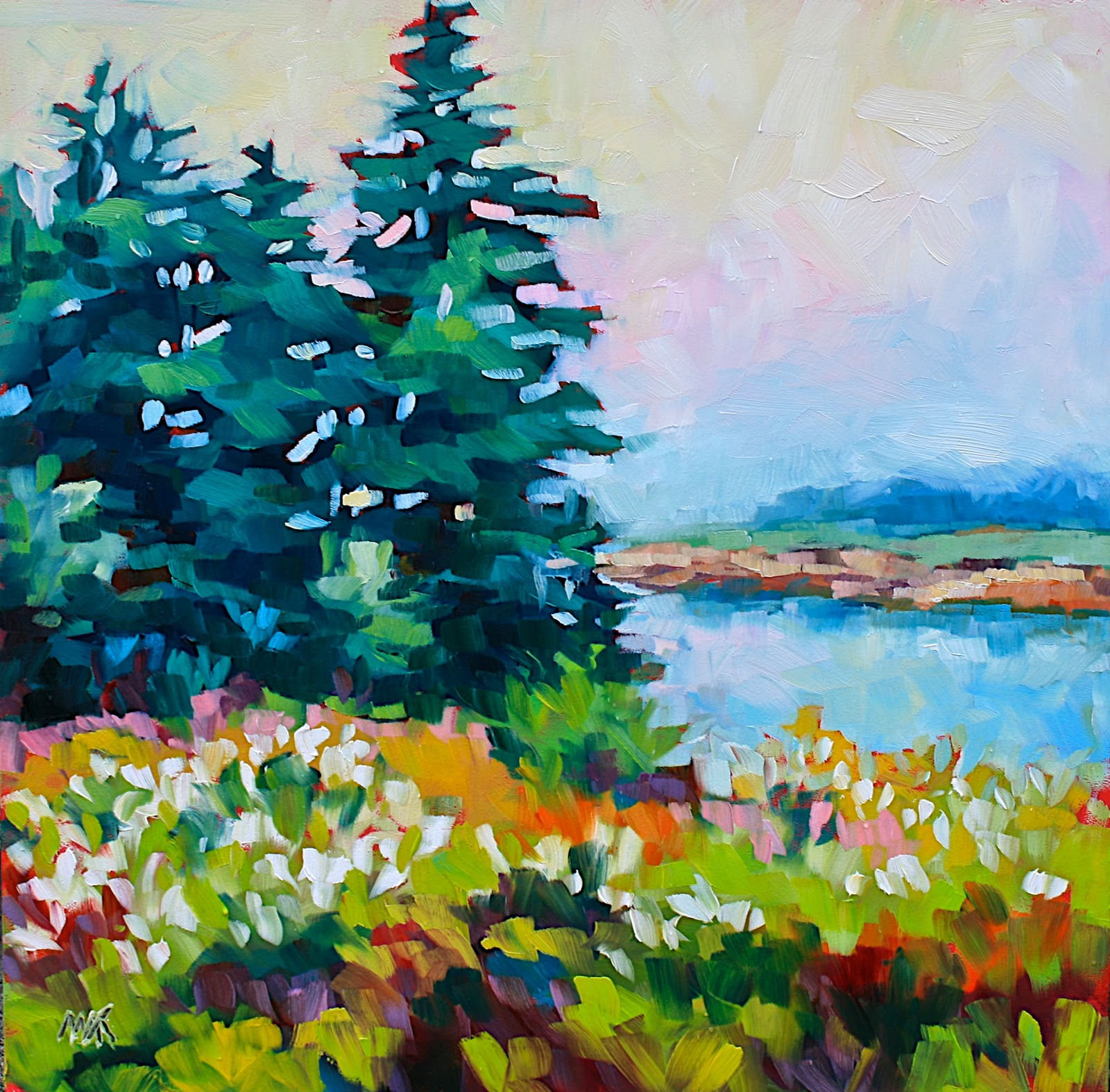 """""""A Different Point of View"""" original fine art by Mary Anne Cary"""