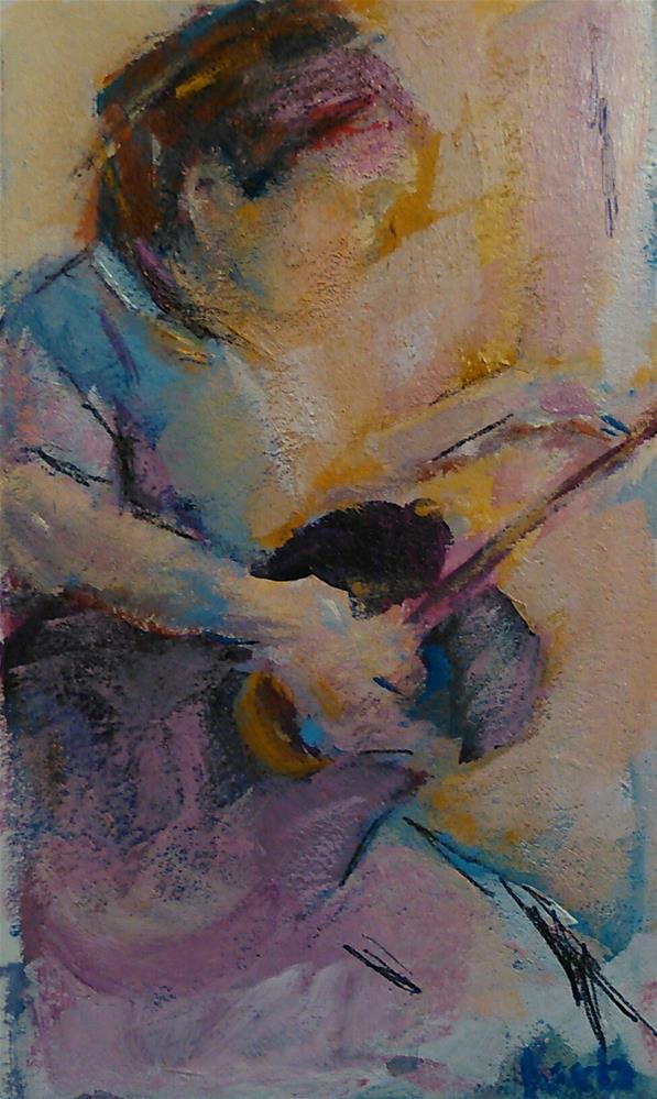 """Strings"" original fine art by Ann Rudd"