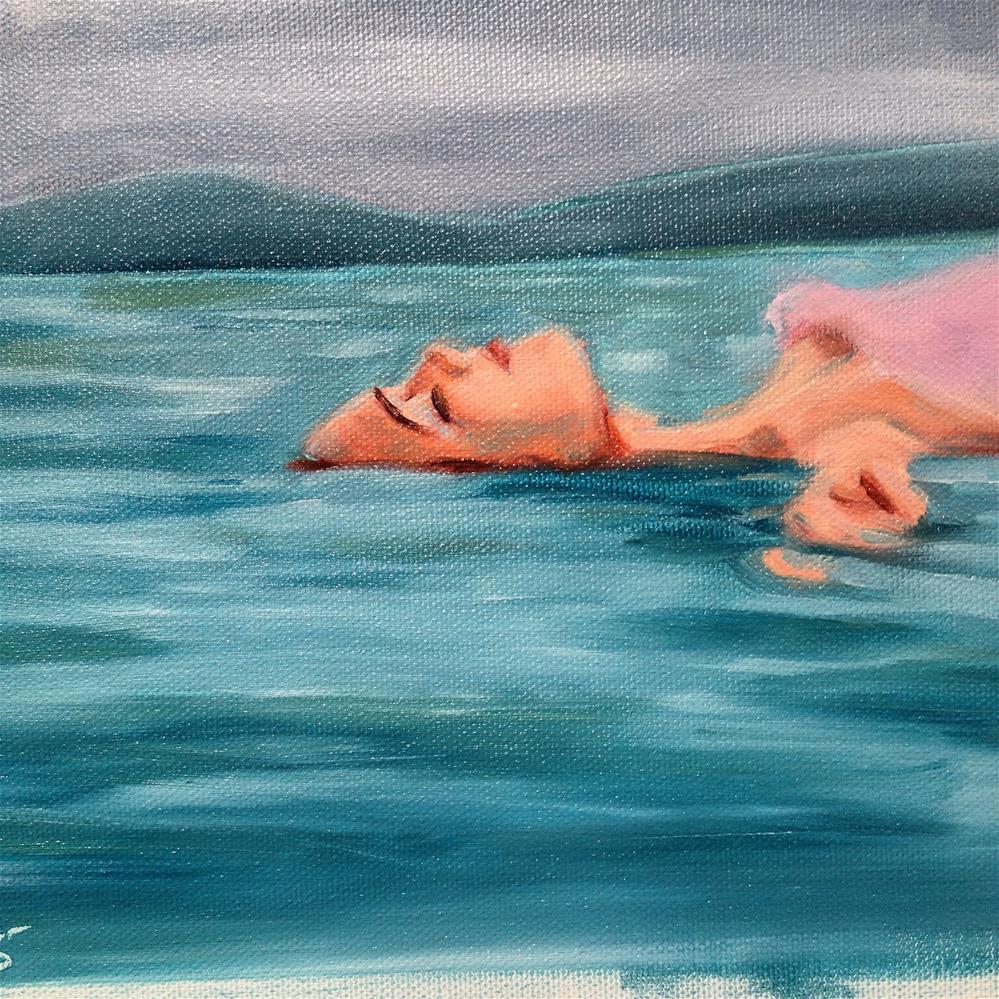 """Floating"" original fine art by Bev Thibault"
