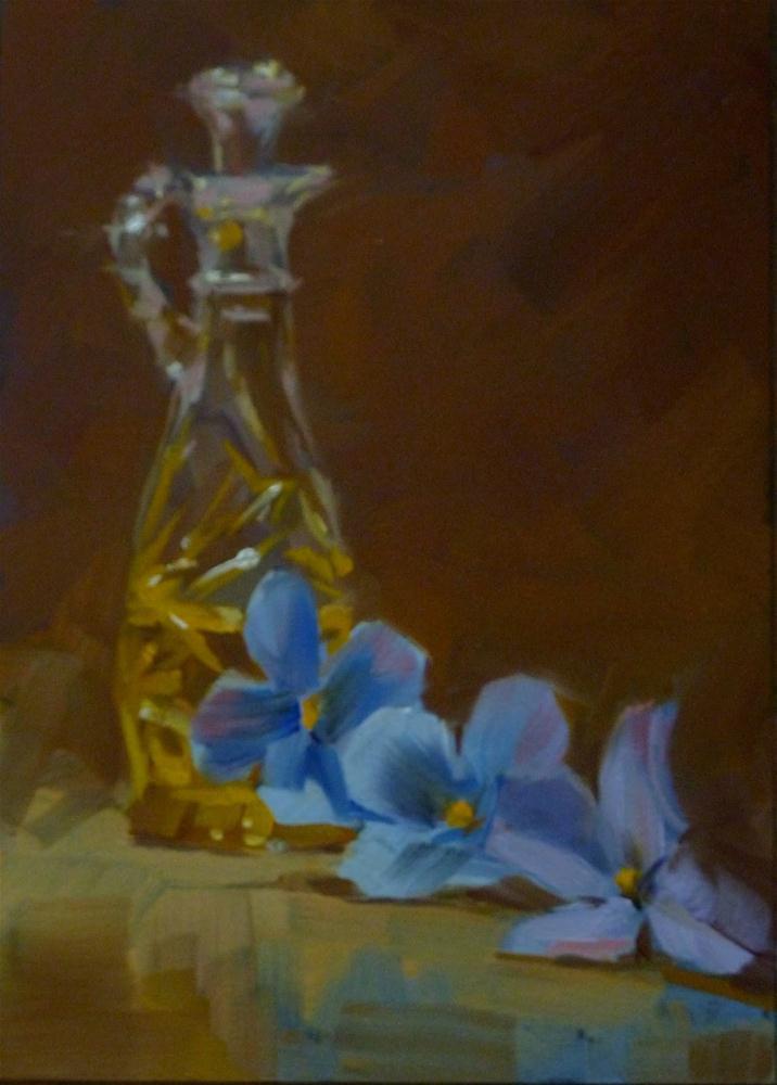 """""""Olive Oil"""" original fine art by Ron Ferkol"""