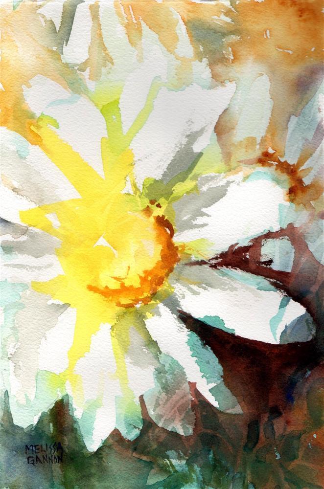 """Daisy Design"" original fine art by Melissa Gannon"