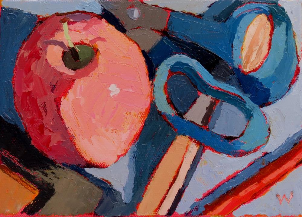 """""""Hovering"""" original fine art by Joan Wiberg"""