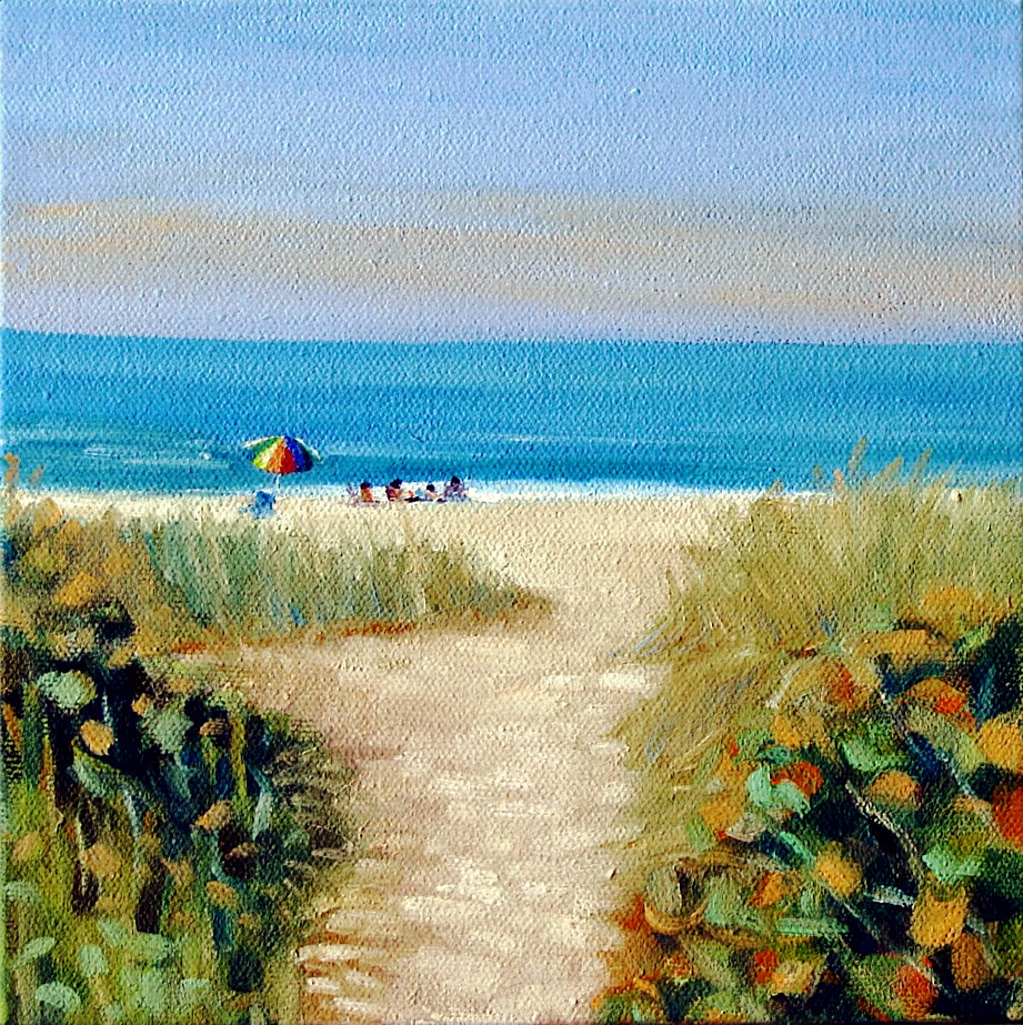 """Sandal Path"" original fine art by Joanna Bingham"