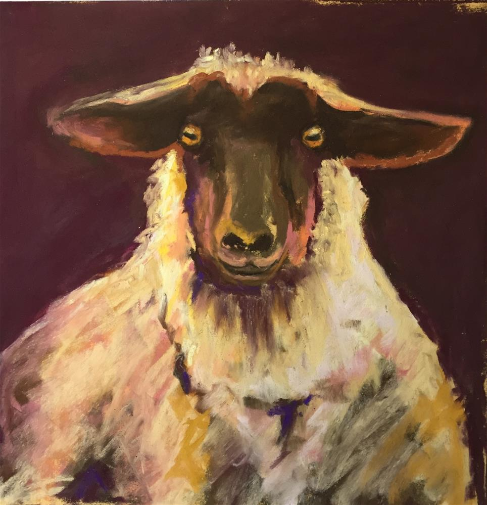 """Shep"" original fine art by Sandi Miller"