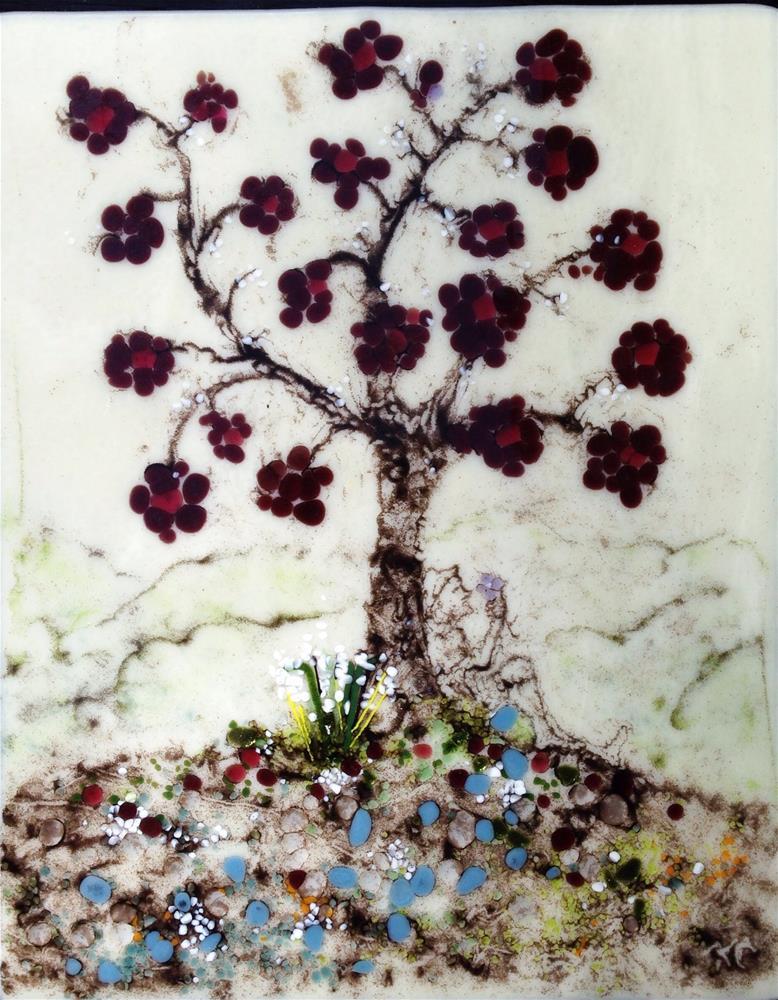 """Serenity"" original fine art by Kris Alge"