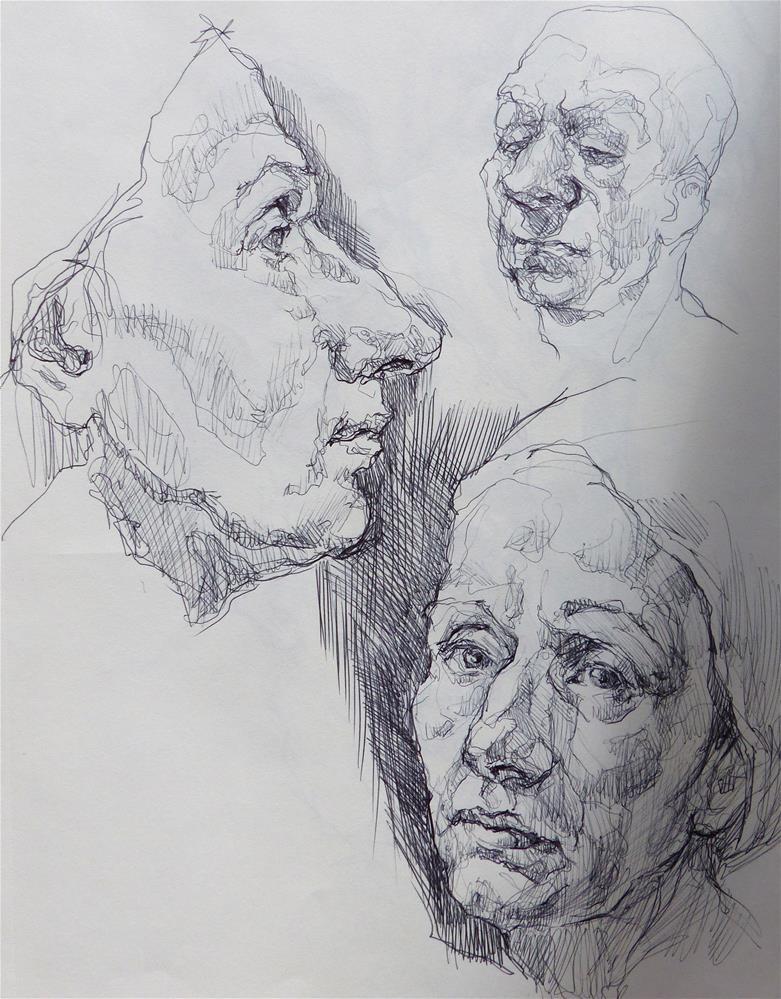 """sketchbook97"" original fine art by Katya Minkina"