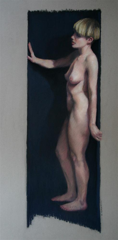 """Turn to the right"" original fine art by Liz Balkwill"