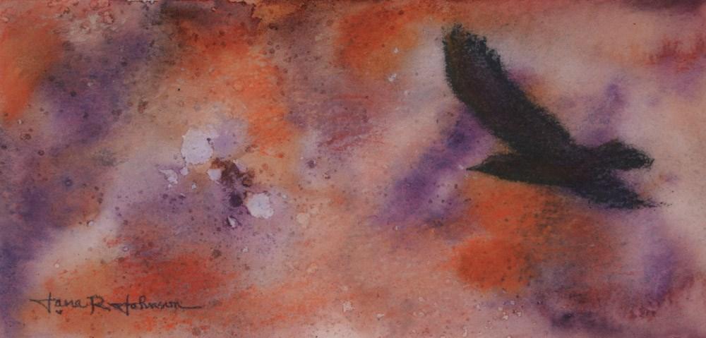 """Flying High"" original fine art by Jana Johnson"