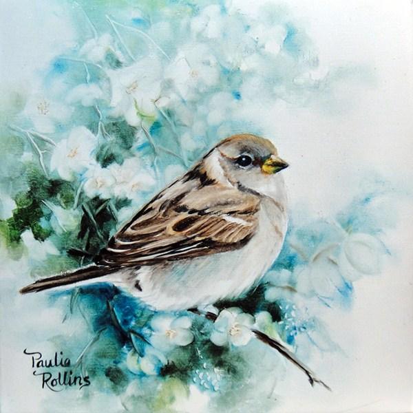 """Cool Spring"" original fine art by Paulie Rollins"