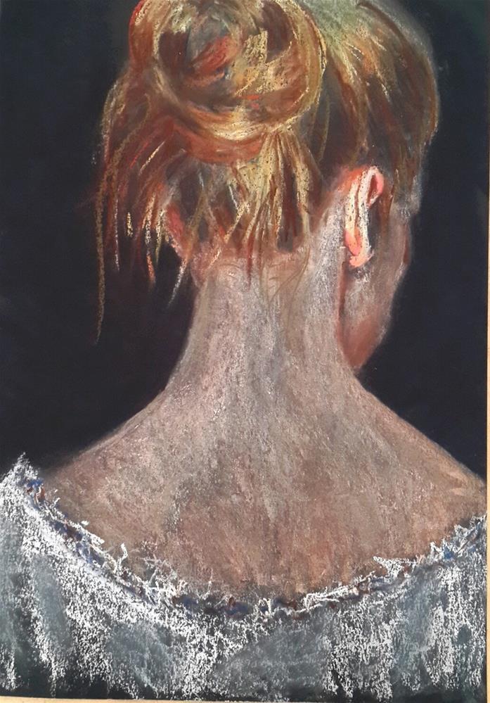 """Femme"" original fine art by Rentia Coetzee"