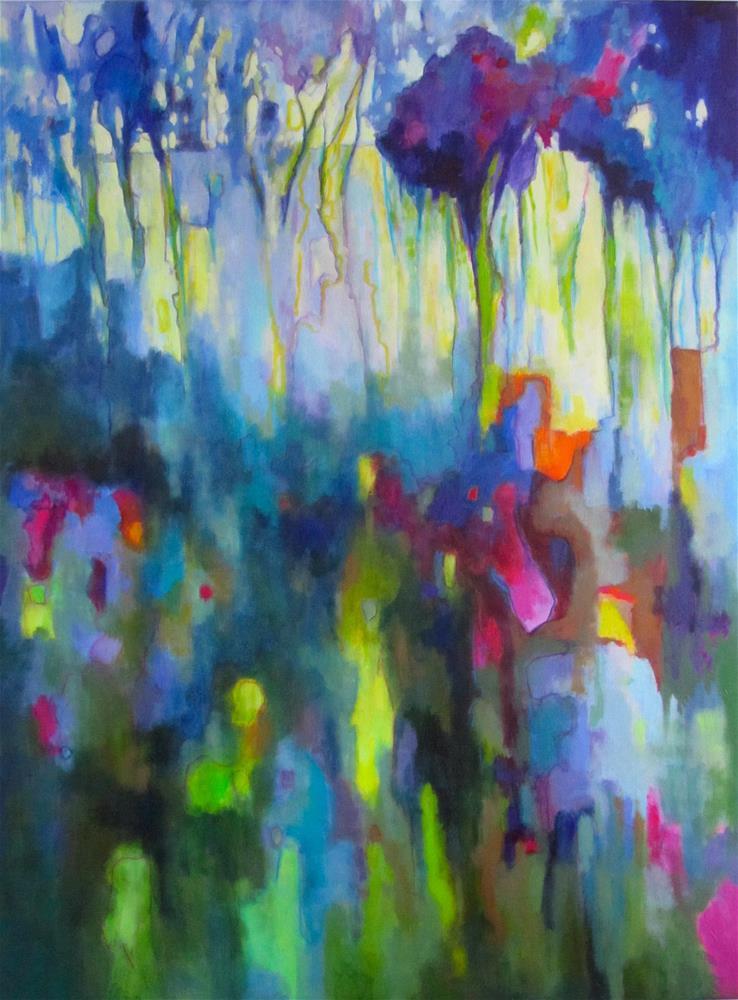 """Provence Meadow II"" original fine art by Patricia MacDonald"