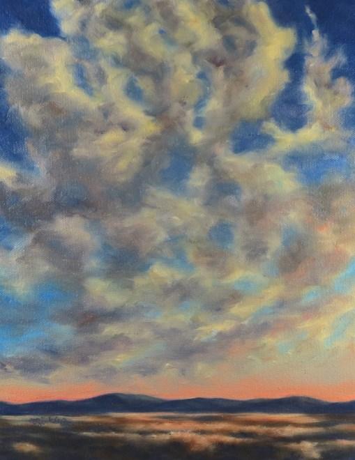"""Morning Dance"" original fine art by Carol Zirkle"