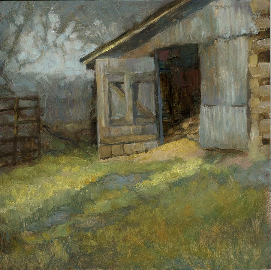 """Penn Farm"" original fine art by Robyn Jorde"