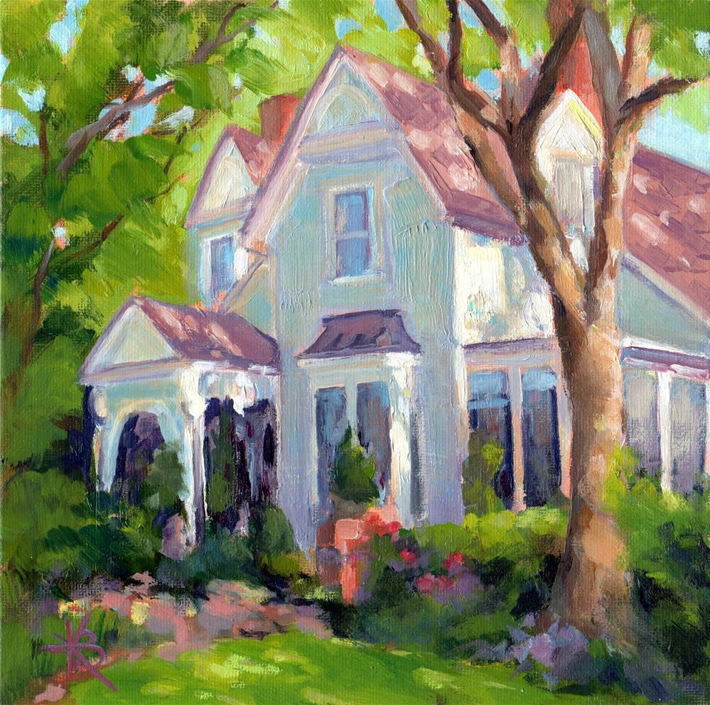 """Grandma's House"" original fine art by Kathy Bodamer"