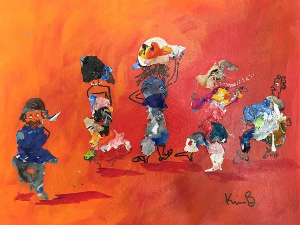 """The Jig"" original fine art by Kimberly Balentine"