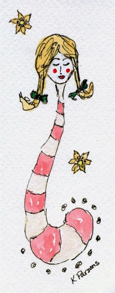 """""""There's a Little Dr. Suess in All of Us"""" original fine art by Kali Parsons"""