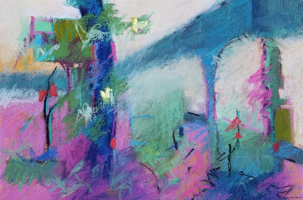 """Over Run"" original fine art by Cindy Haase"
