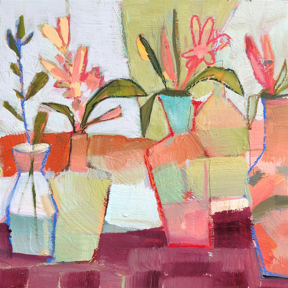"""0742: Vase Space"" original fine art by Brian Miller"