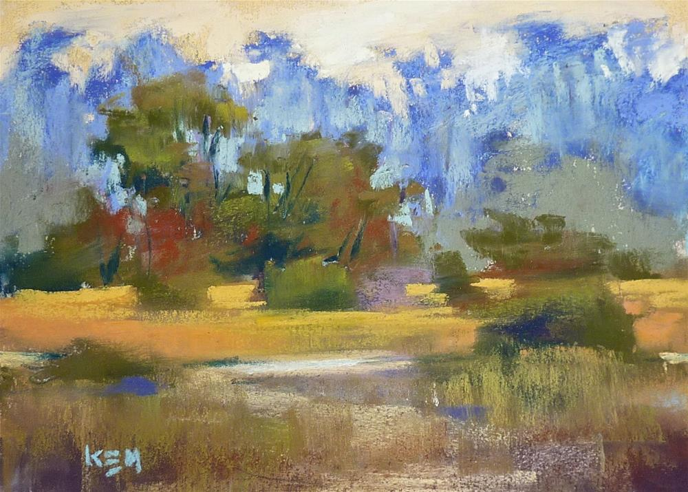 """""""A Great Way to Protect and Share Pastel Paintings"""" original fine art by Karen Margulis"""