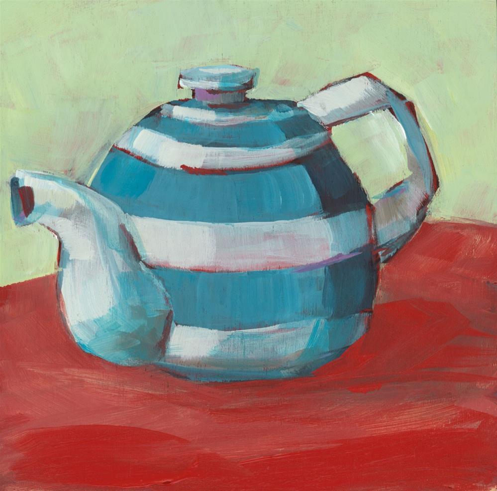 """""""0979: Hot Tea"""" original fine art by Brian Miller"""