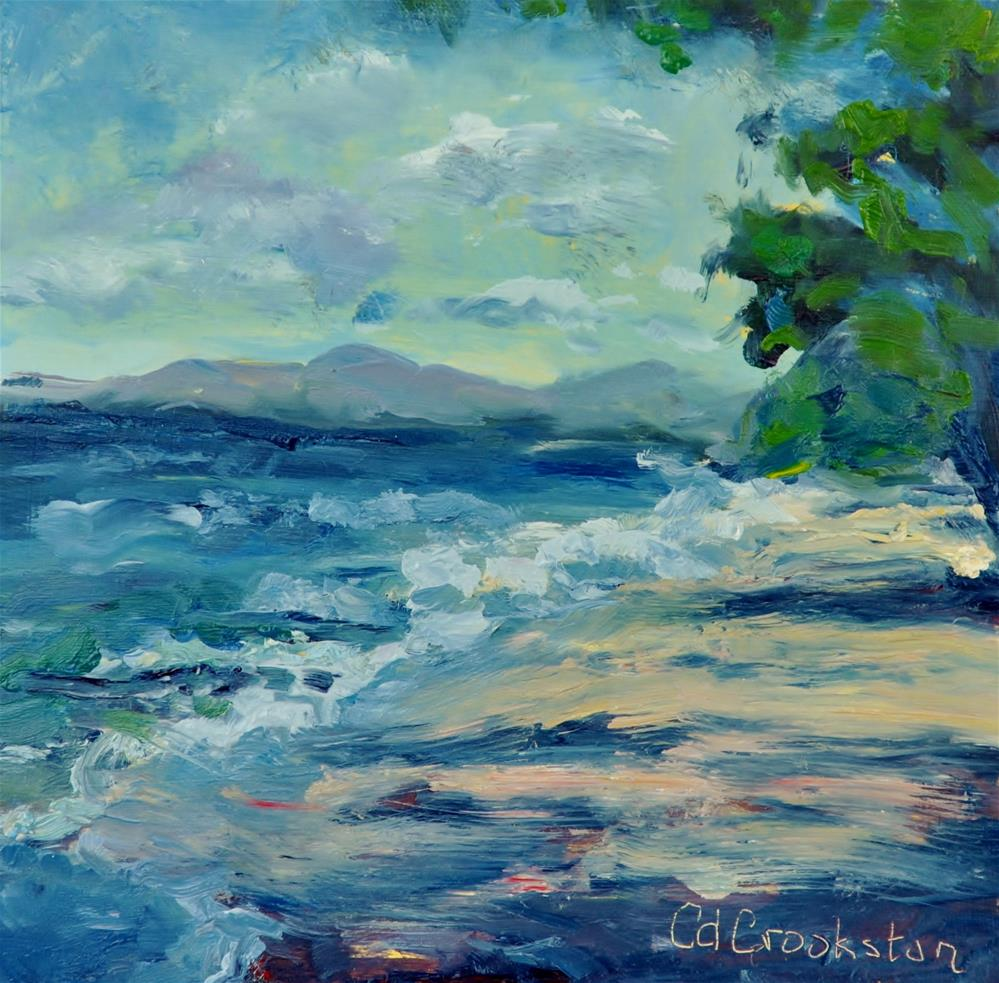 """By the Shore"" original fine art by Catherine Crookston"