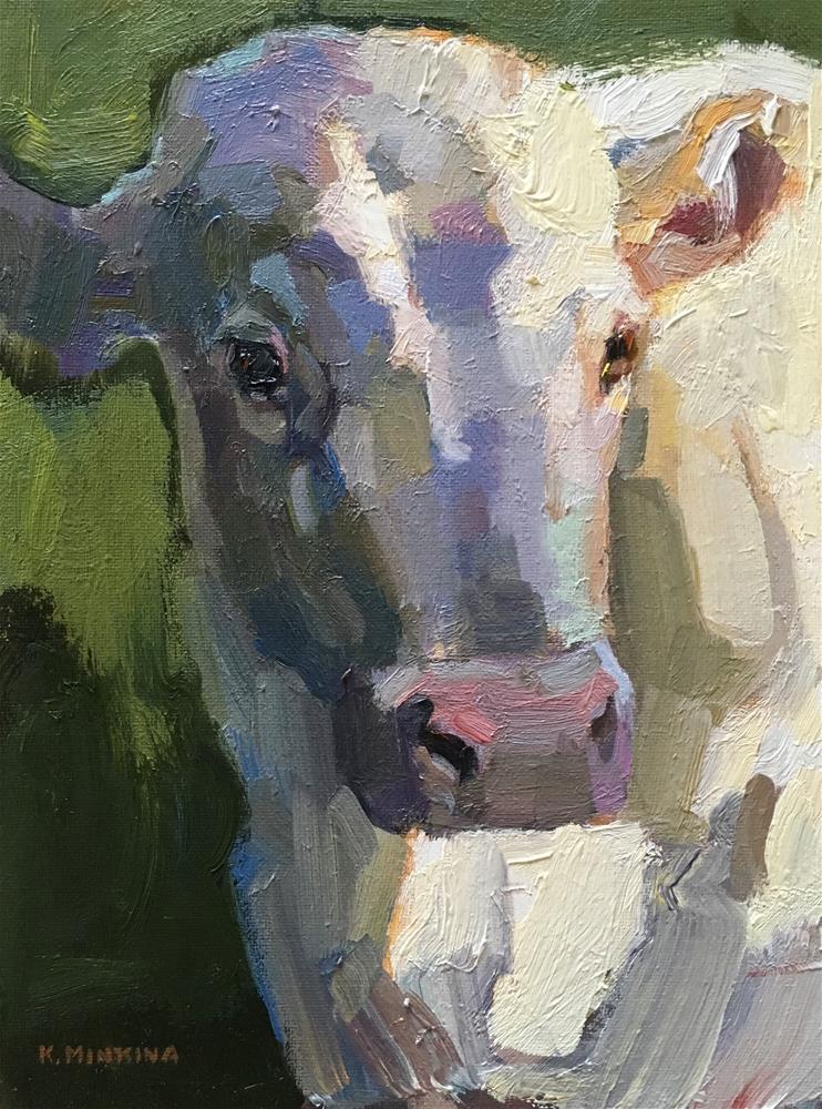 """Pasturelife1"" original fine art by Katya Minkina"