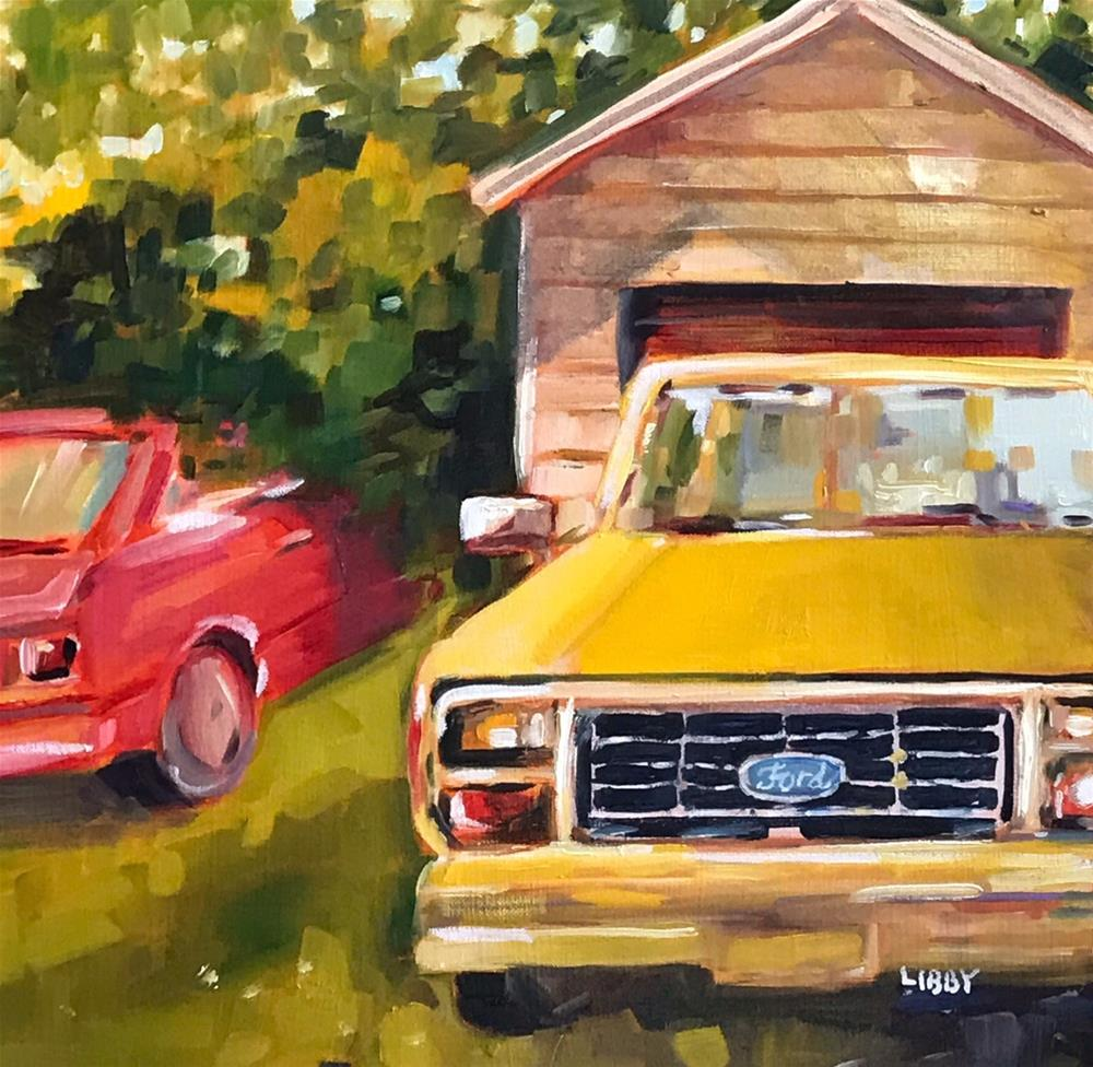 """First Ford"" original fine art by Libby Anderson"