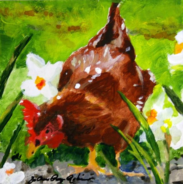 """Penny"" original fine art by JoAnne Perez Robinson"