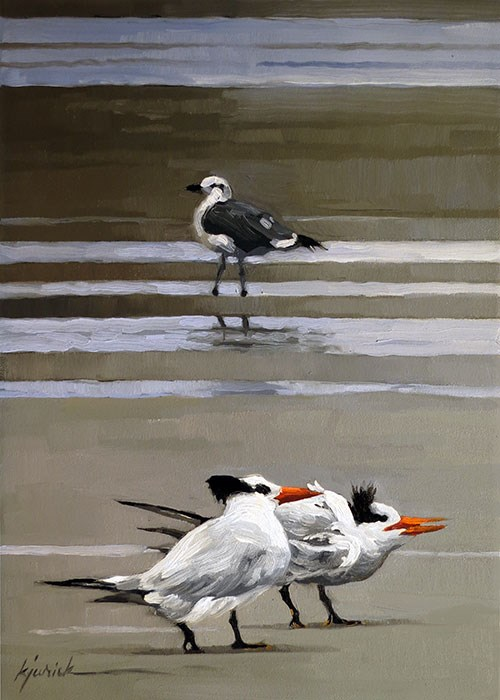 """Royalty"" original fine art by Karin Jurick"