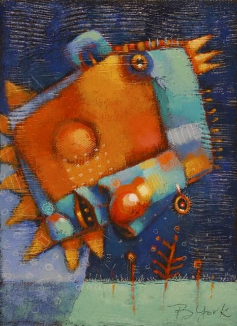 """Spring Fever"" original fine art by Brenda York"