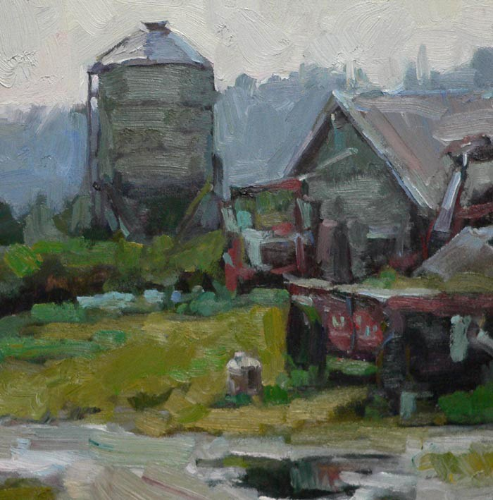 """After the Rain"" original fine art by Kathryn Townsend"