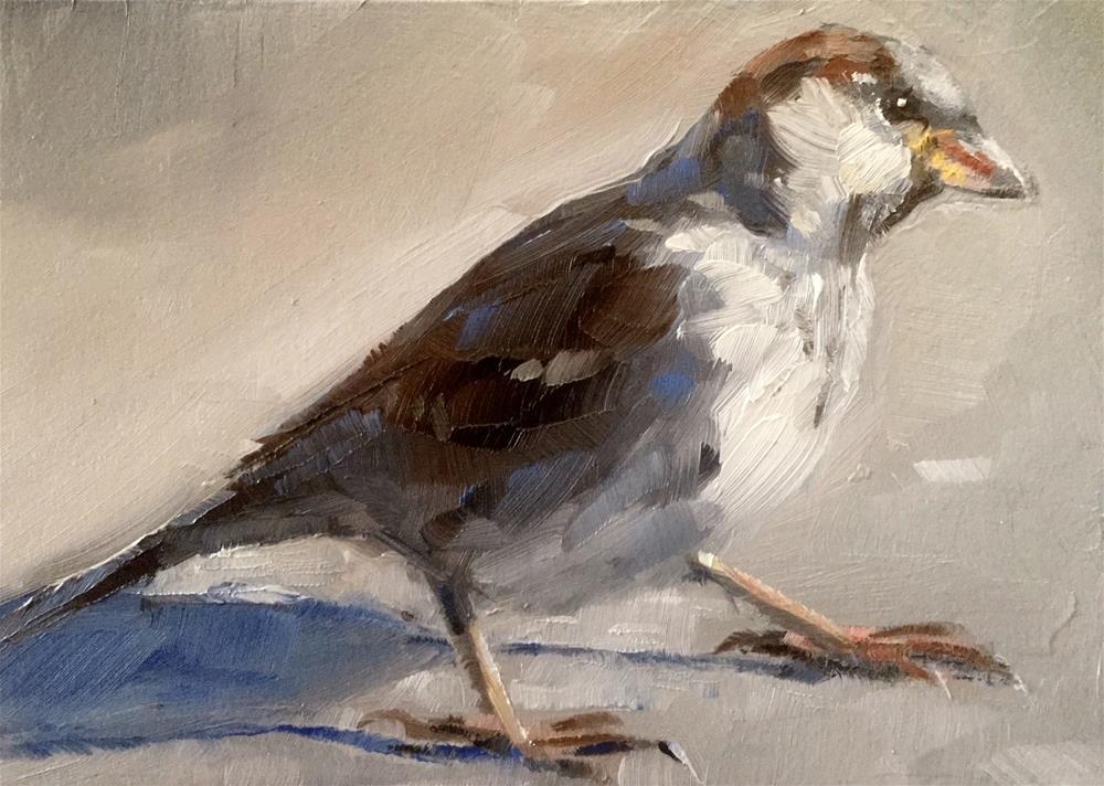 """Sparrow Stance"" original fine art by Gary Bruton"