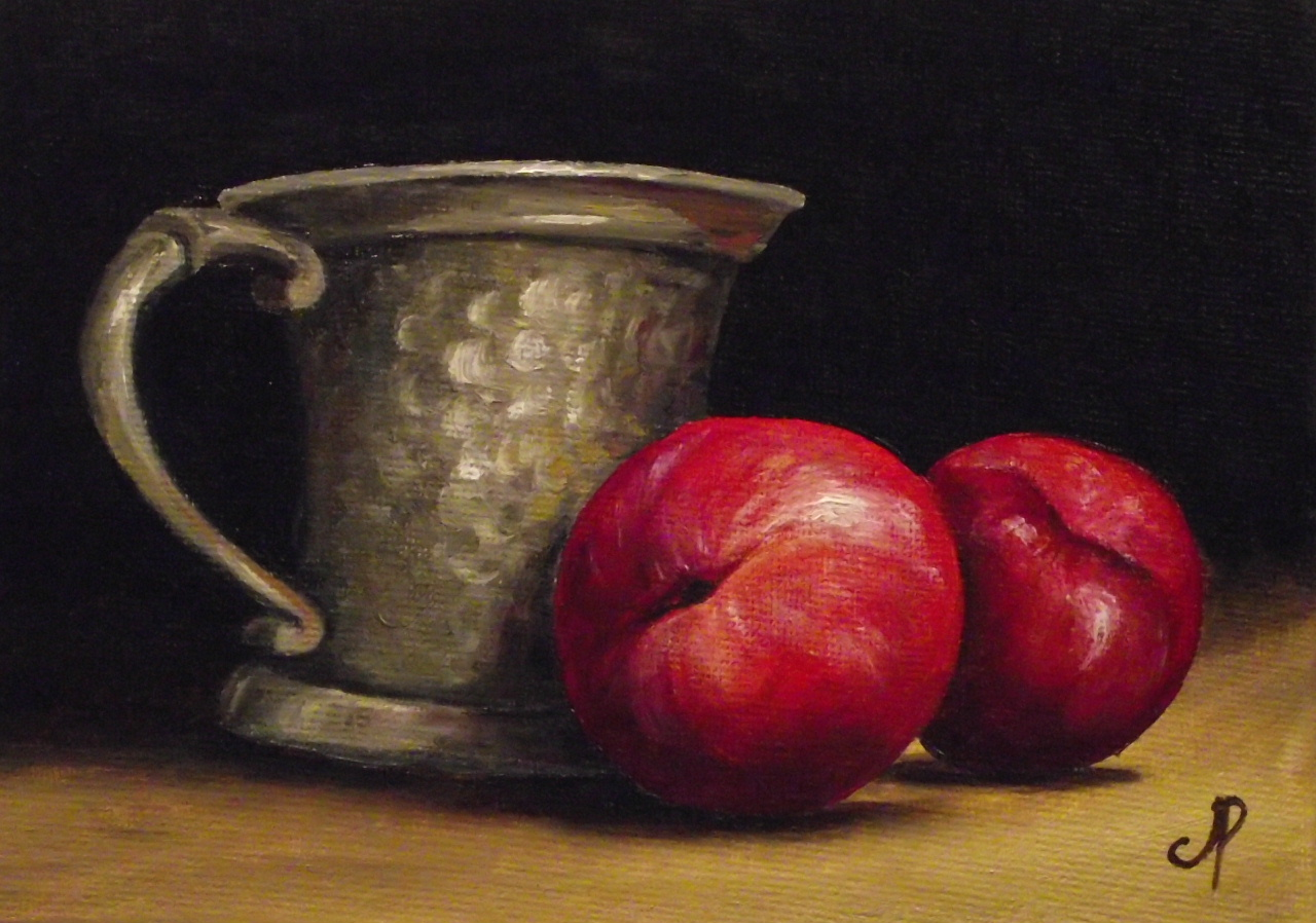 """""""Daily painting #110"""" original fine art by Jane Palmer"""
